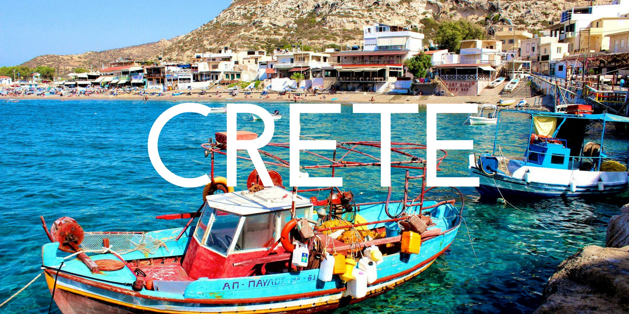 Crete - Authentic Traveling - Header