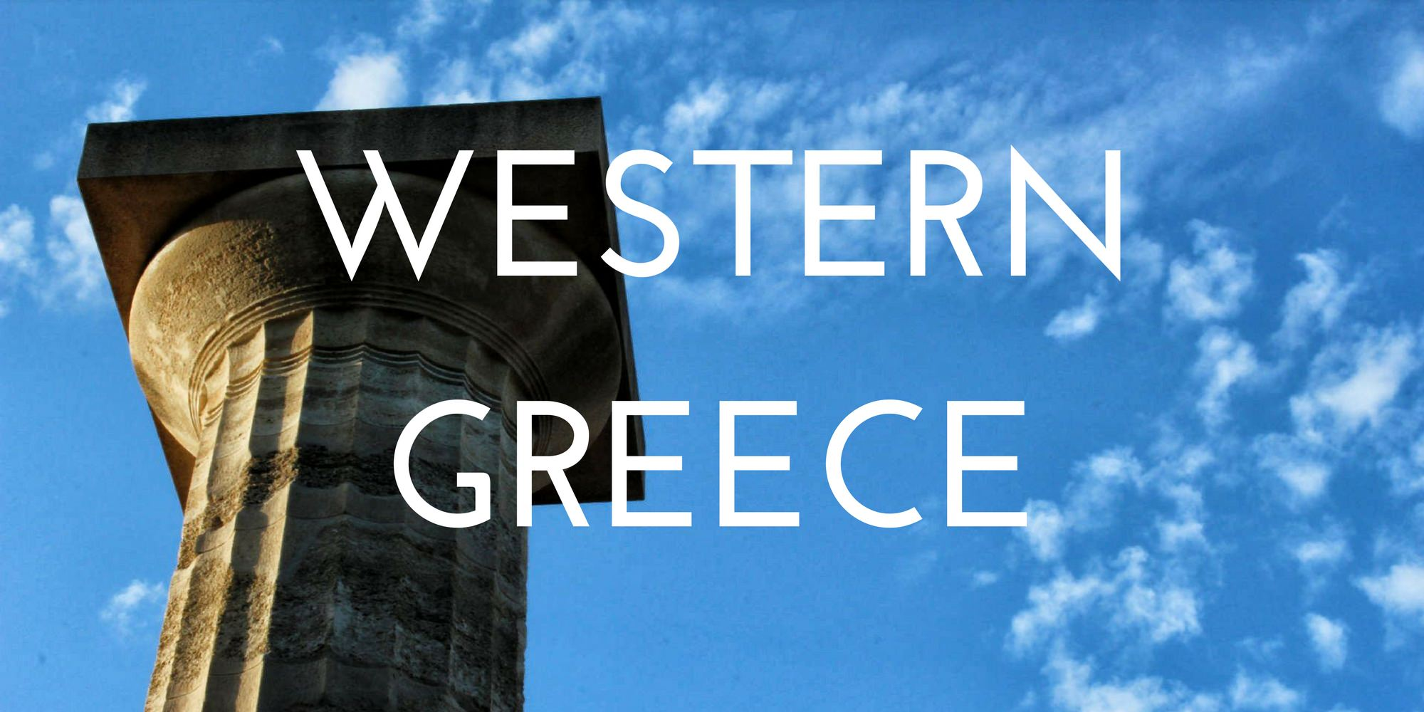 Western Greece - Authentic Traveling - Header