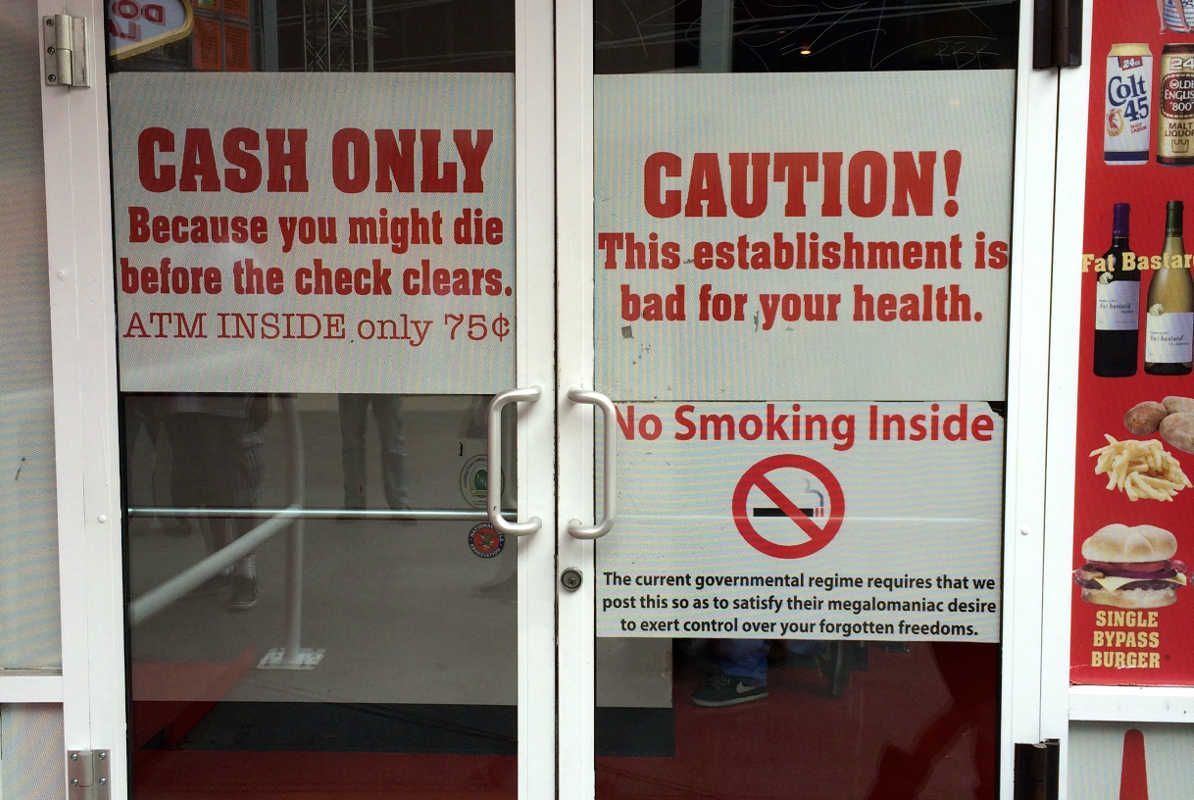 heart attack grill warning, las vegas, nevada