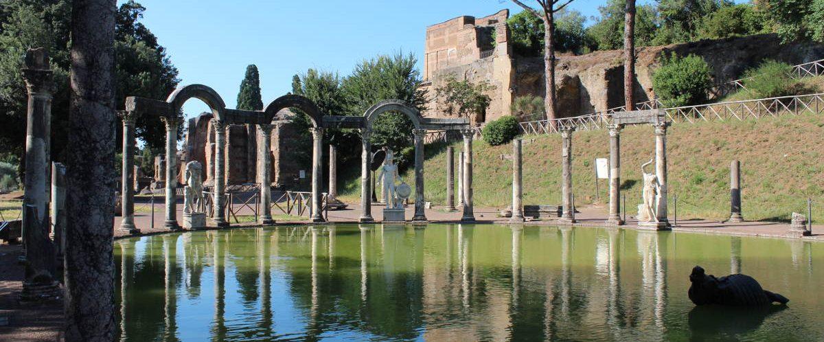 hadrians villa intro lazio italy tivoli