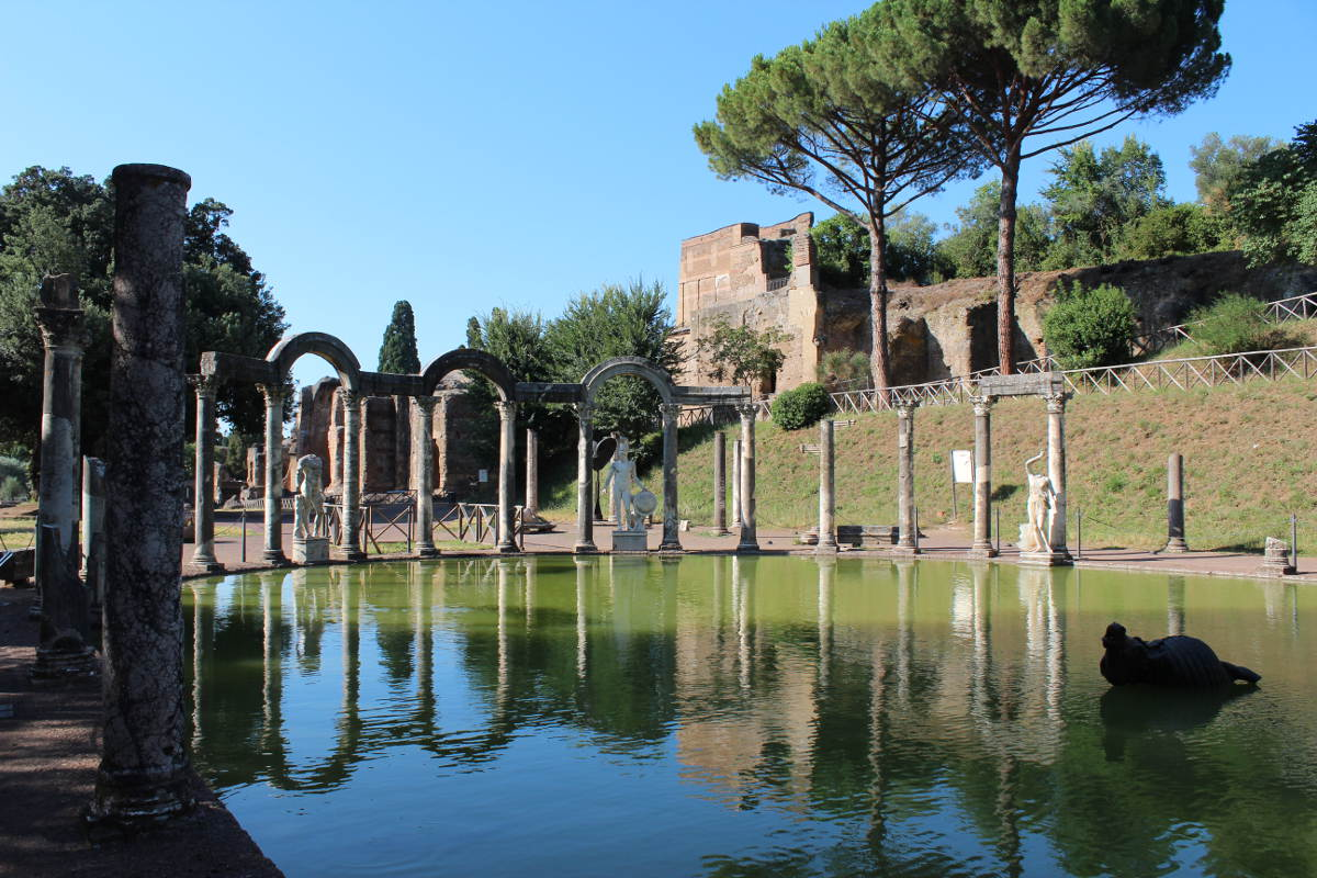 archaeological sites in italy hadrians villa intro lazio italy tivoli