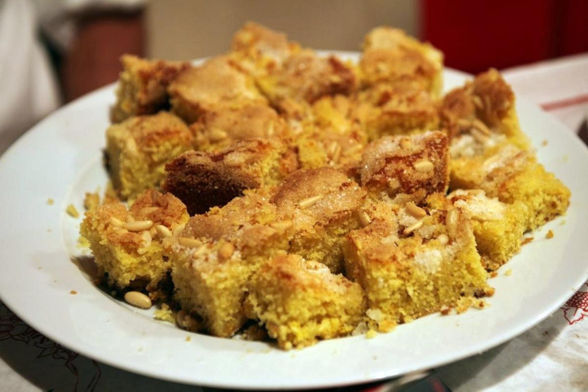 olive oil cake from dario cecchini