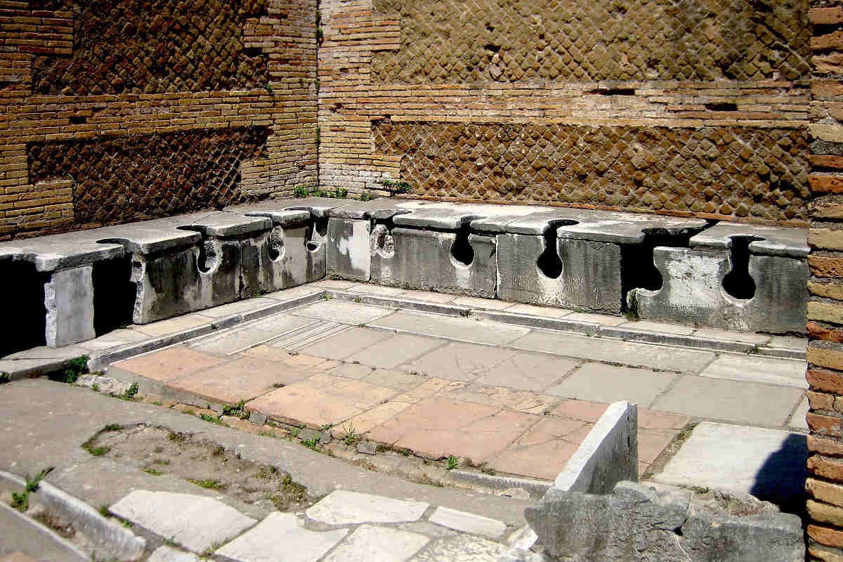 archaeological sites in italy osita antica bathroom lazio italy