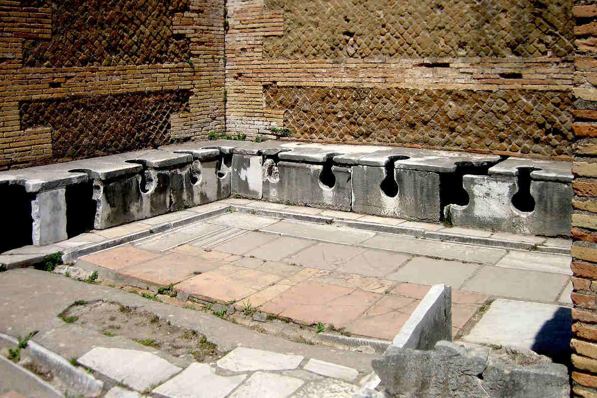 archaeological sites in italy osita antica bathroom lazio italy