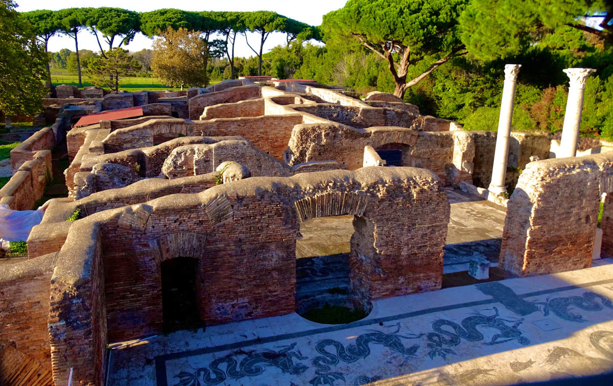 archaeological sites in italy ostia antia overview