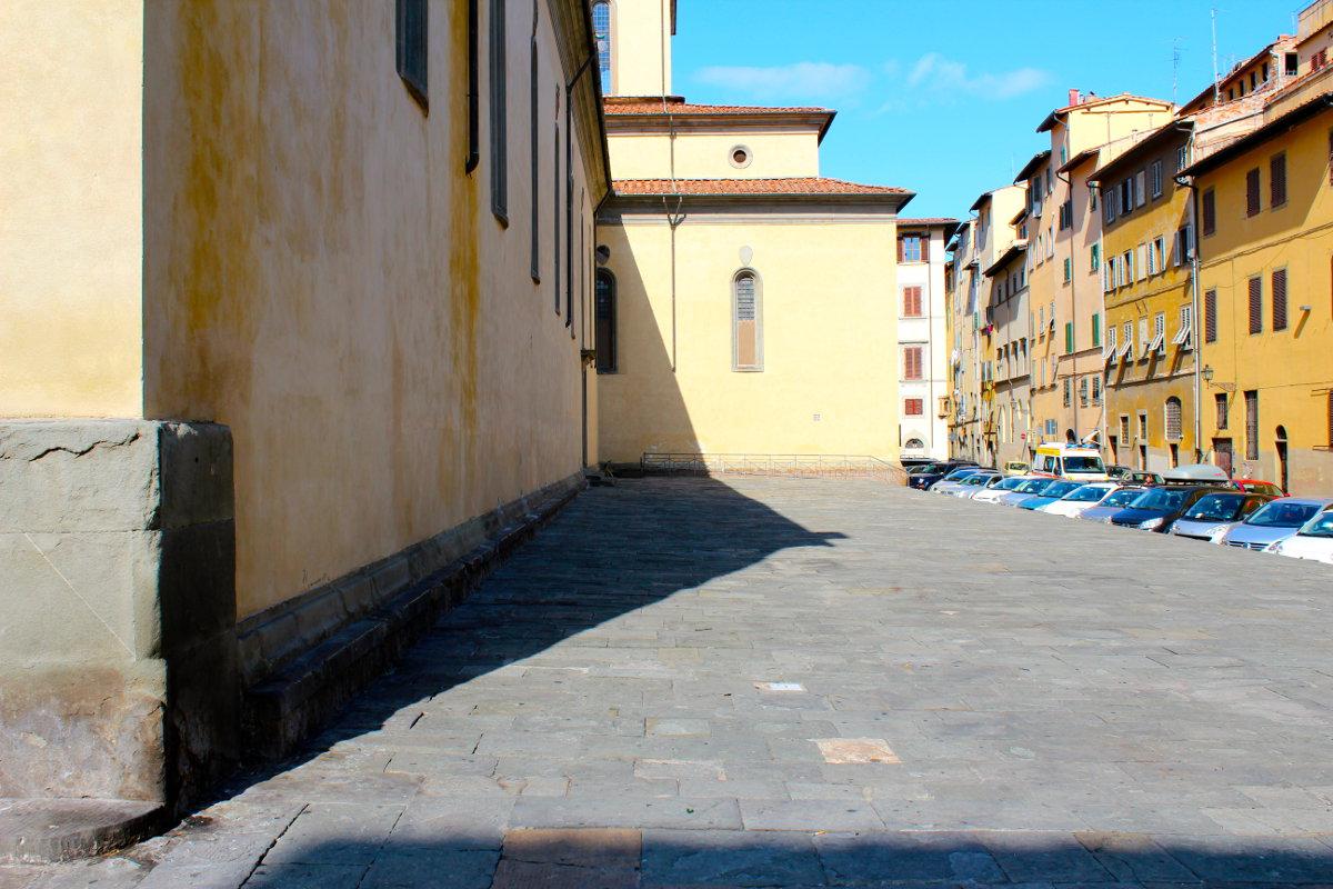 santo spirito side florence tuscany italy
