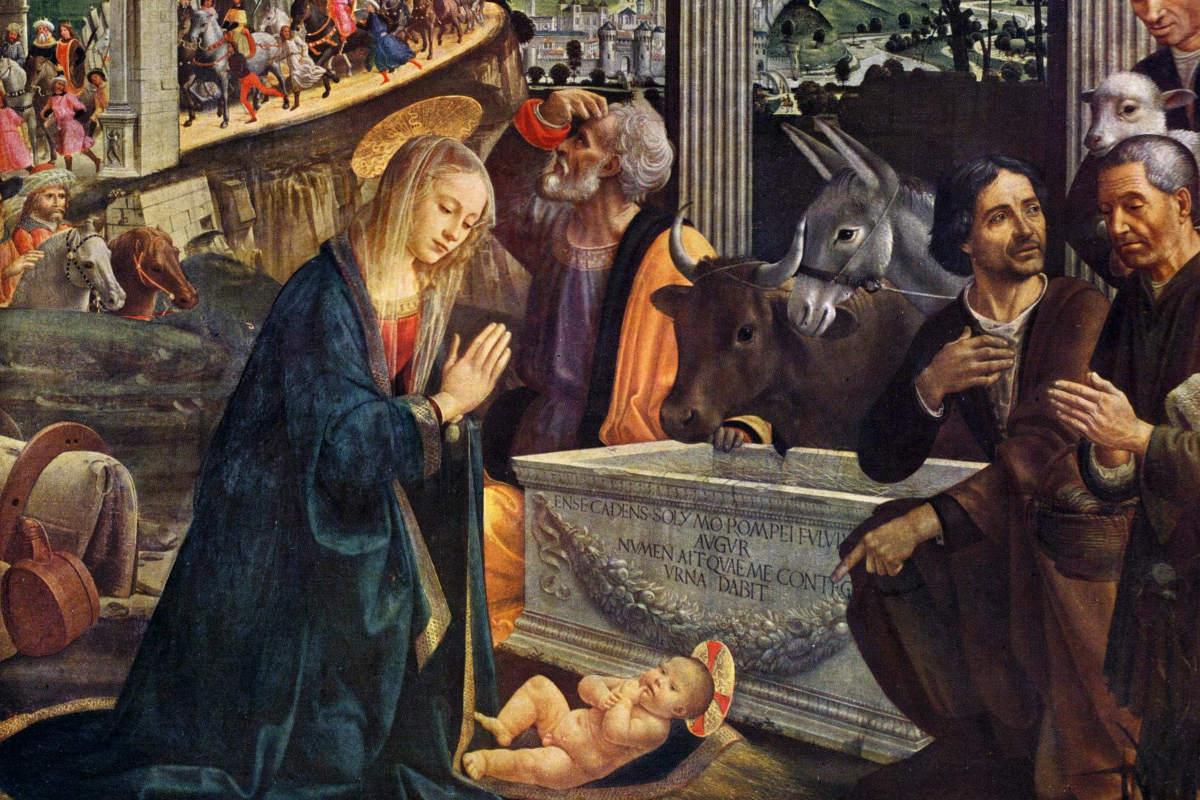 sassetti altarpiece santa trinita florence tuscany italy