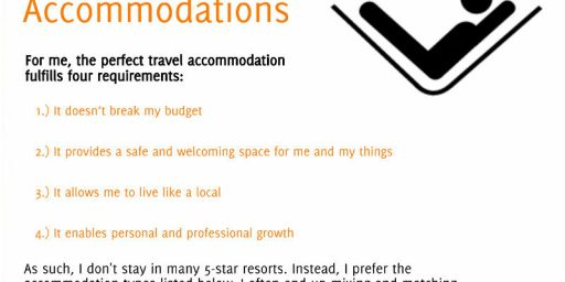 Finding Perfect Travel Accommodations