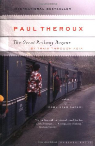 Great Railway Bazaar - Paul Theroux - Most Inspiring Travel Books