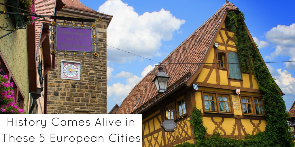 History Comes Alive in These 5 European Cities - Header