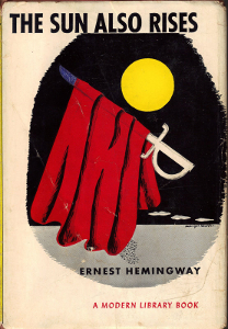 The Sun Also Rises - Ernst Hemingway - Most Inspiring Travel Books
