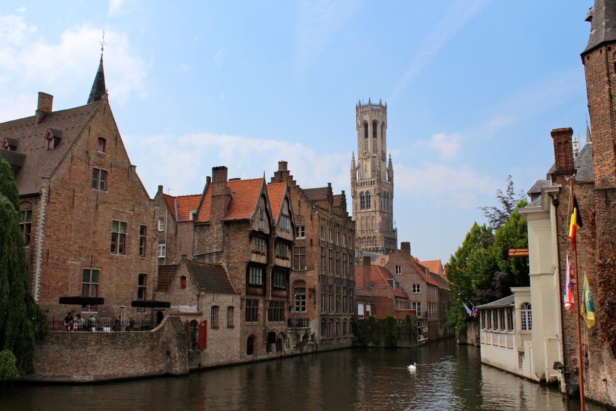 Bruges Belgium canal history comes alive
