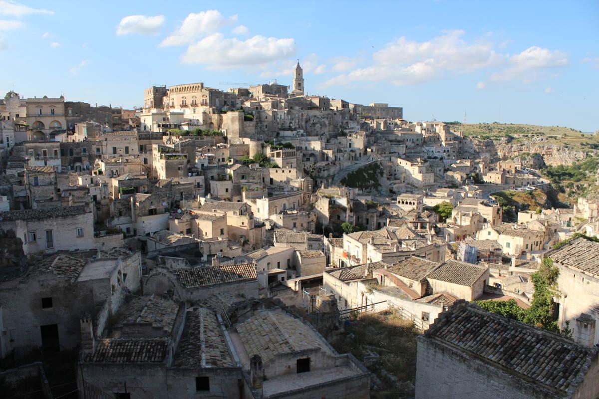 Sassi in Matera, Italy. History comes alive.