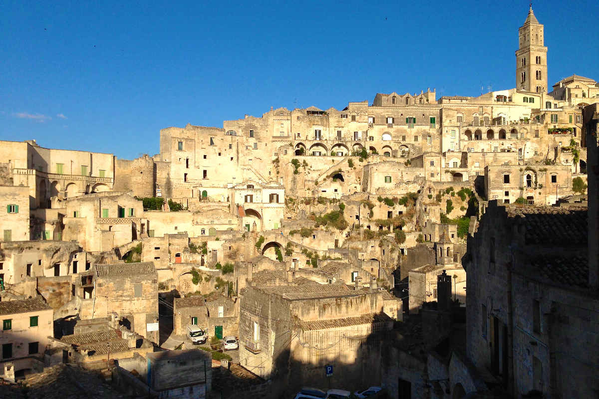 Sassi of Matera, Italy. History comes alive.