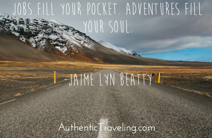 Jaime Lyn Beatty Authentic Traveling