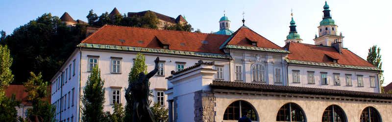 Ljubljana Slovenia Narrow