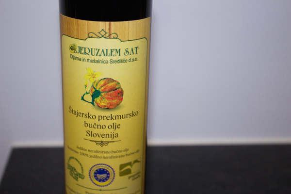 Pumpkin Seed Oil Slovenian Food