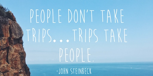 John Steinbeck Authentic Traveling Quote of the Week