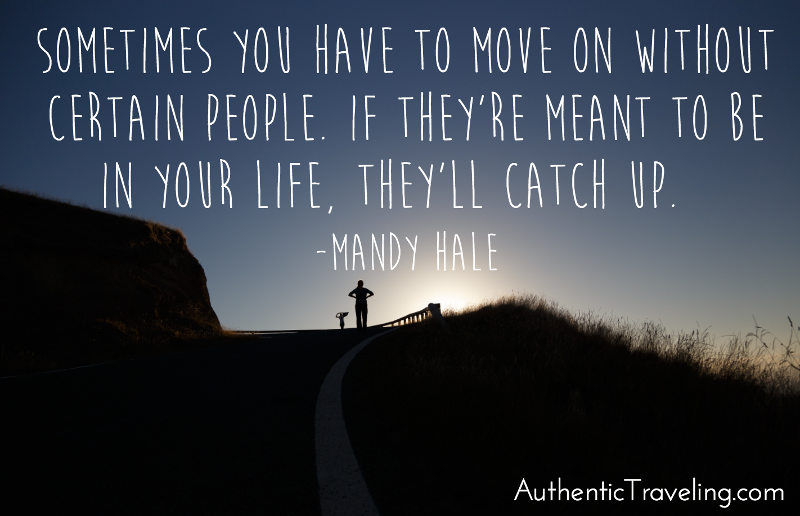 Mandy Hale - Travel Quote of the Week - Authentic Traveling