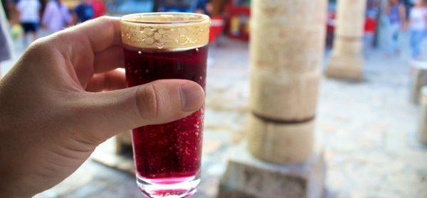 homemade soda old bazaar skopje macedonia