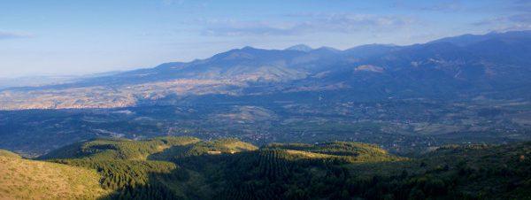 Mount Vodno Skopje Macedonia
