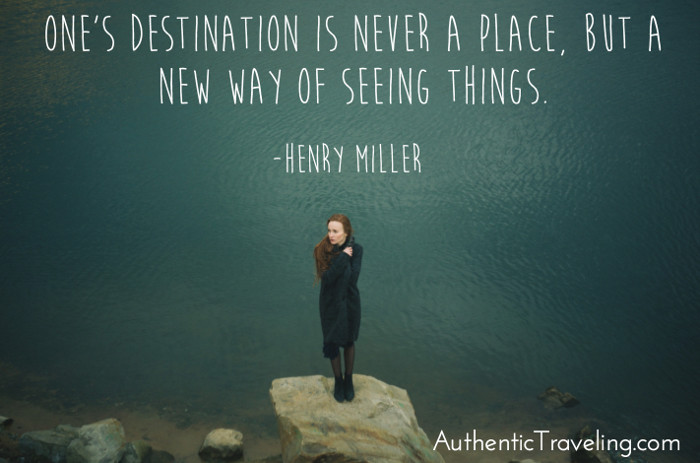 Henry Miller Authentic Traveling