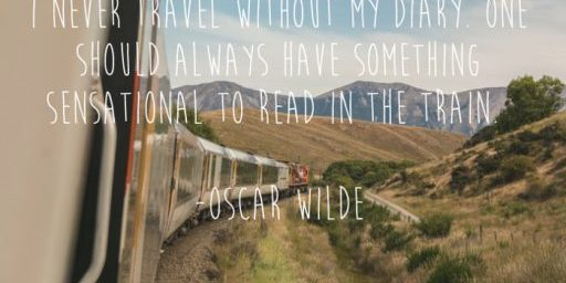 Oscar Wilde – Travel Quote of the Week