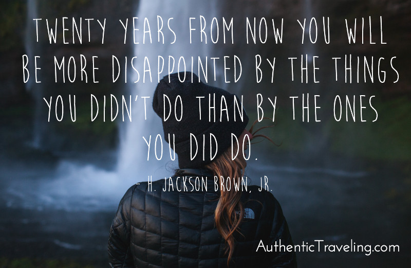h jackson brown jr authentic traveling quote