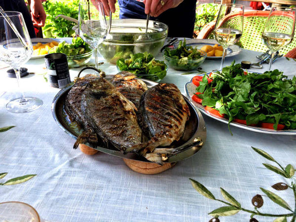 Lake Trout Slovenj Gradec Slovenia best things i ate while traveling