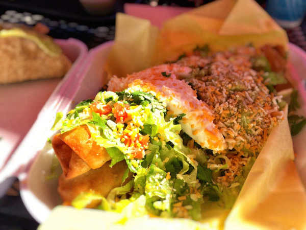 Rauls Shack Flautas de Pollo Encinitas California best things i ate while traveling