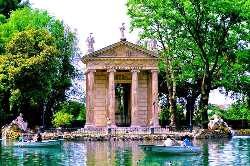 villa borghese authentic living rome italy