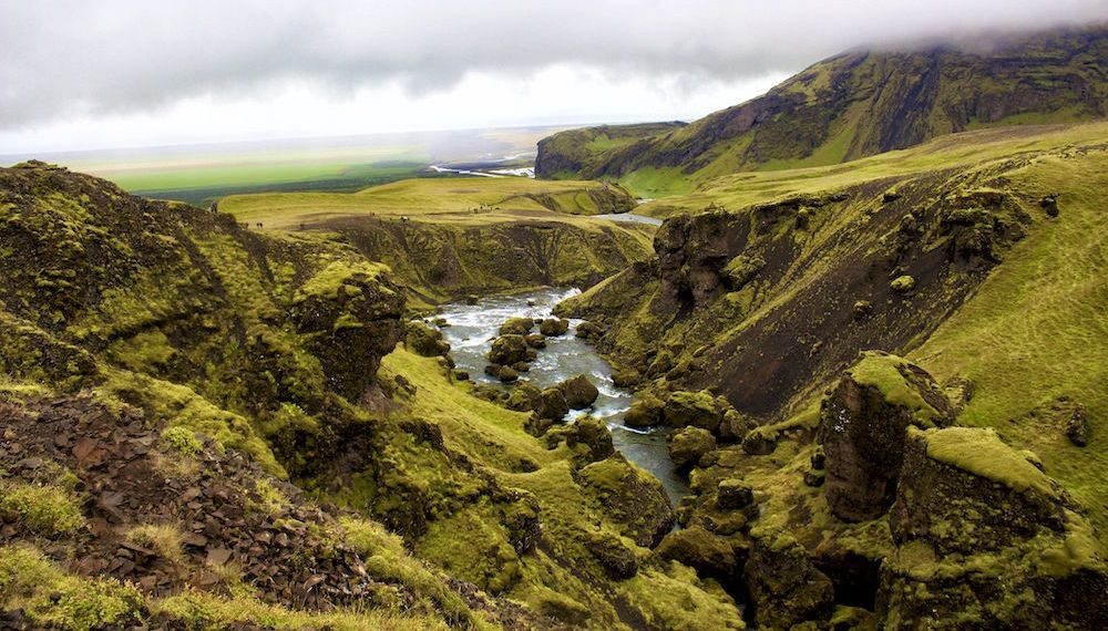 Canyon How to Visit Iceland on a Budget