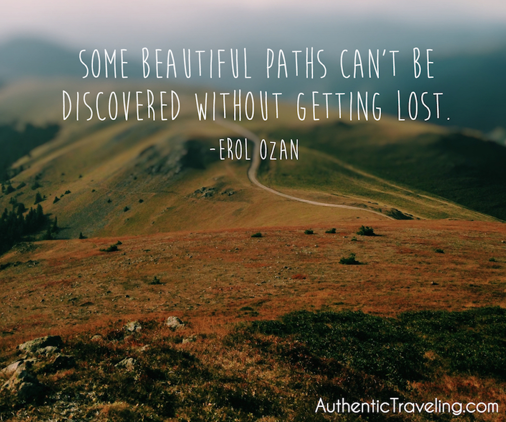 Erol Ozan - Authentic Traveling Quote of the Week