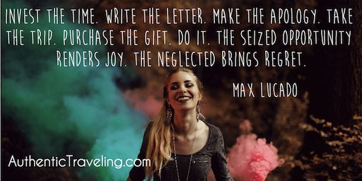 Max Lucado – Travel Quote of the Week