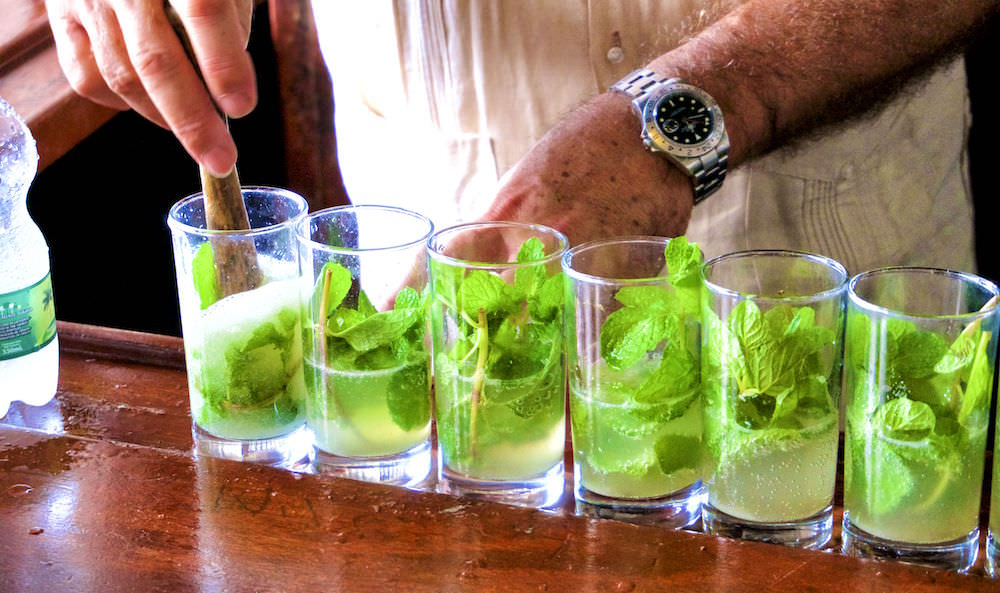 Mojitos at El Bodeguita - Travel to Cuba 2019