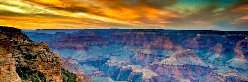 Grand Canyon Sunset - The Travel Whipser Blogger Challenge - Authentic Traveling.