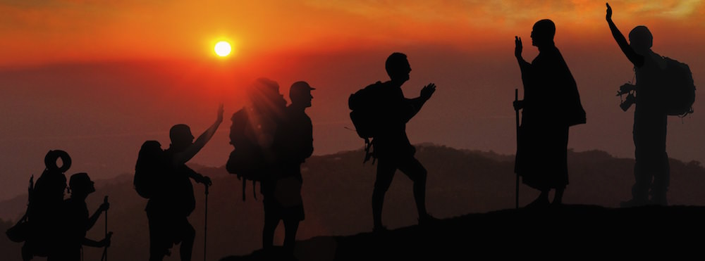 Hiking through Asia - you don't have to be rich to travel well