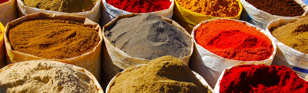 Moroccan Spices - The World is a book, and those who do not travel read only one page