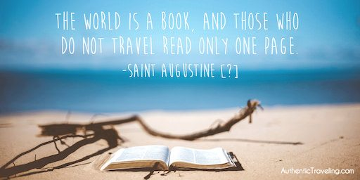 Saint Augustine – Travel Quote of the Week