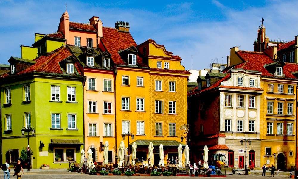 Buildings in Old Town Warsaw - How to Live Like a Local in Warsaw Poland
