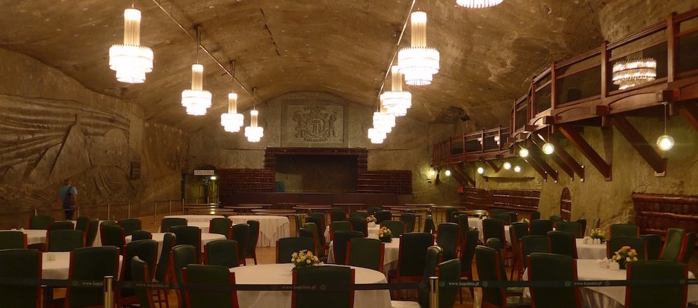 Dining Room - Visiting the Wieliczka Salt Mine