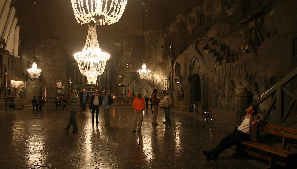 Exploring - Visiting the Wieliczka Salt Mine