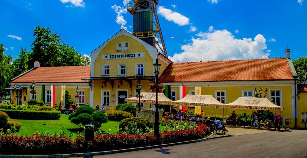 Mine Entrance Building - Visiting the Wieliczka Salt Mine