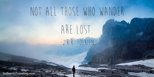 J.R.R. Tolkien – Travel Quote of the Week