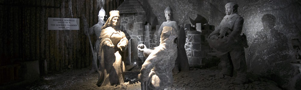 Salt Sculptures of Saint Kinga Founding Legend - Visiting the Wieliczka Salt Mine