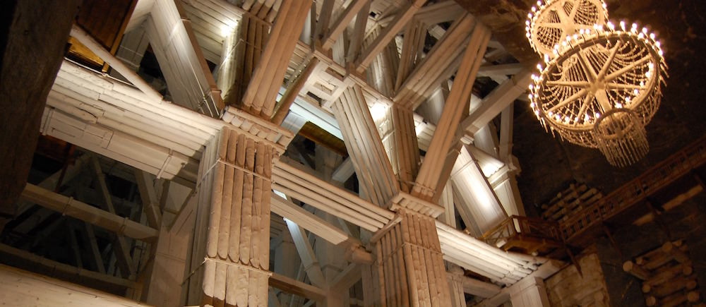 Support Systems - Visiting the Wieliczka Salt Mine