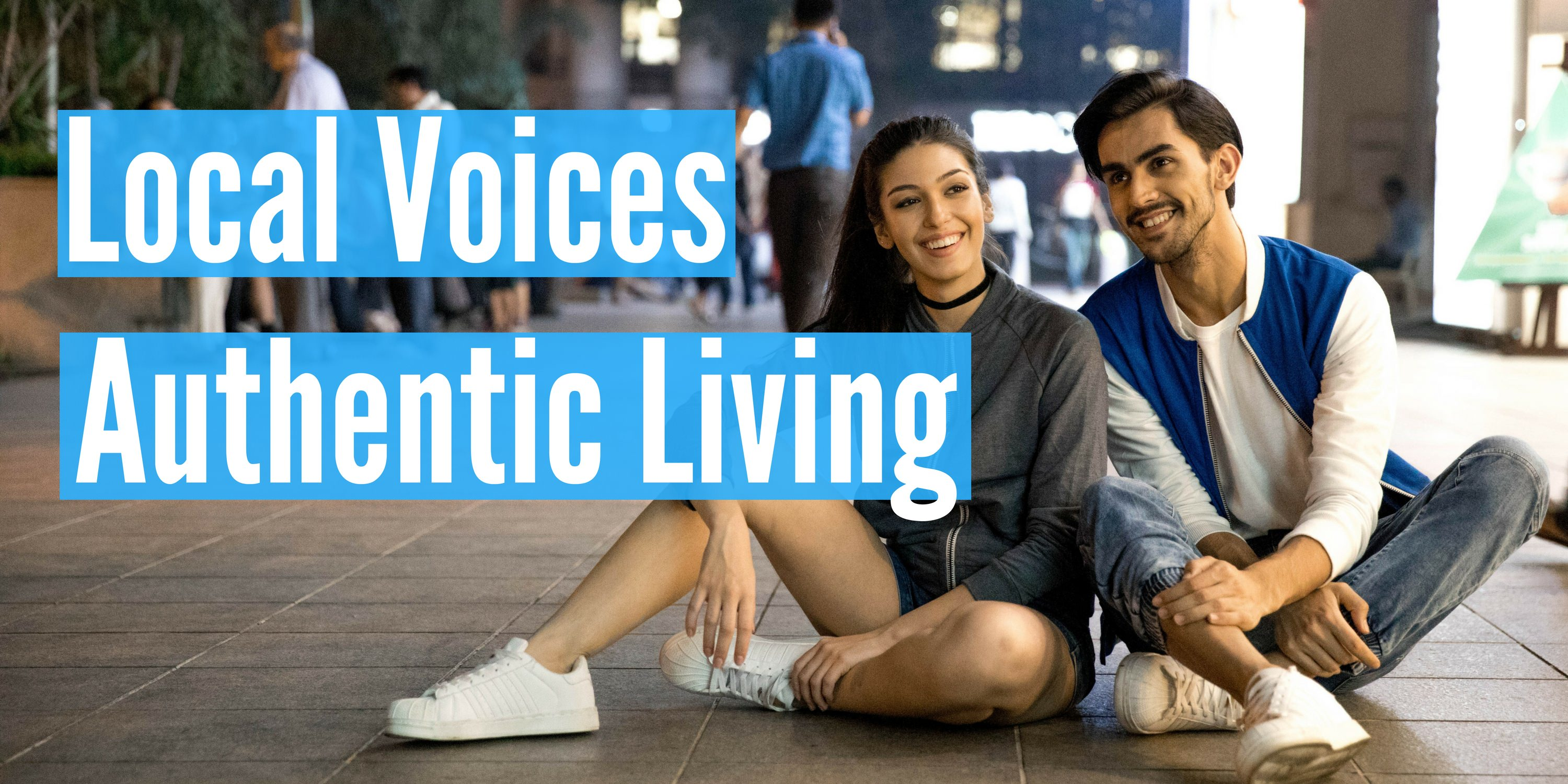 Authentic Living - Header - Local Voices