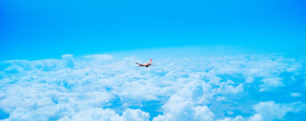 How to Overcome Your Fear of Flying - Airplane in Sky