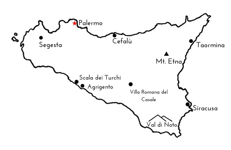 Map of Sicily - Your Quick Guide to Sicily
