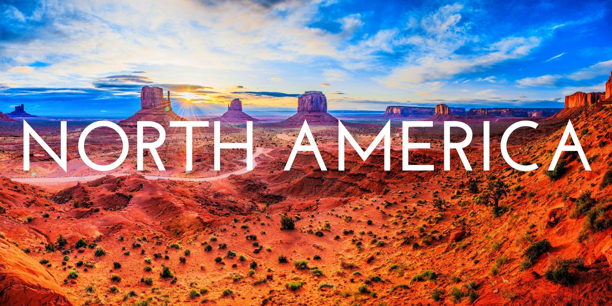 North America - Destinations - Header